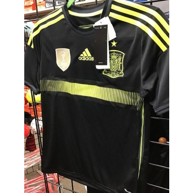 adidas black and yellow soccer jersey