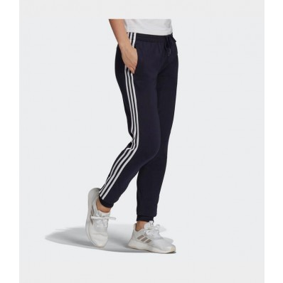 adidas essential cotton jersey jogger pants