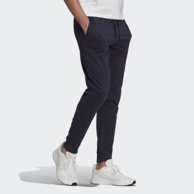adidas essentials single jersey tapered pants