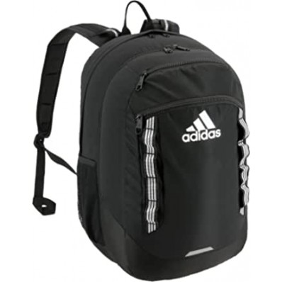 adidas excel backpack jersey white/glow blue