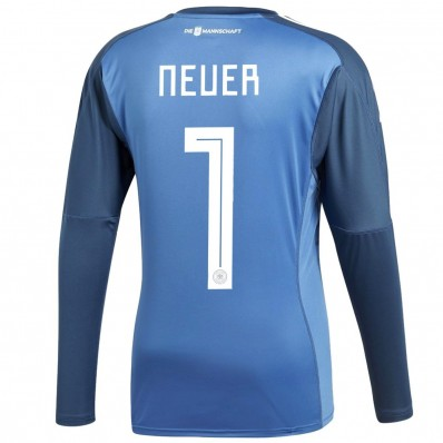 adidas germany home goalkeeper jersey fifa world cup 2018