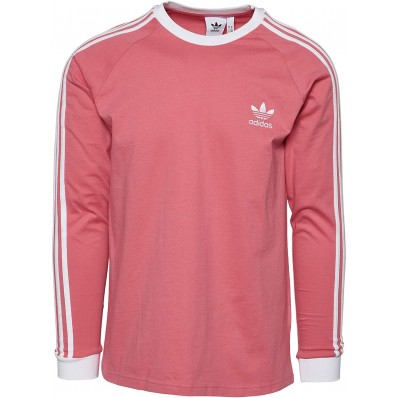 adidas jersey long sleeve stripes shirts for men