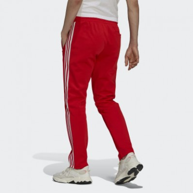 adidas jersey pants red