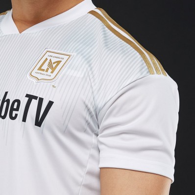 adidas jersey white and gold