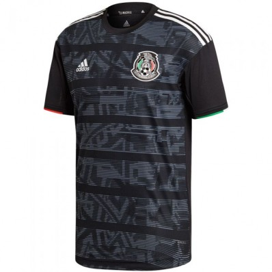 adidas men's soccer mexico home authentic jersey
