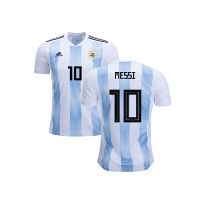 adidas messi #10 official adult home soccer jersey