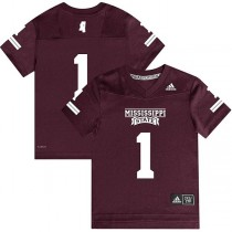 adidas mississippi state youth jersey
